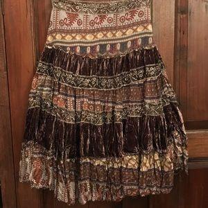 ☘️🌺 Fabulous Boho skirt , amazing pattern 🌺☘️